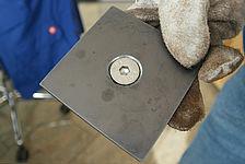 Schrägschnitt für Senkschraube - Optimal für verschleissfeste Stähle