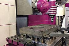 CNC-Bearbeitung von schweren Bauteilen