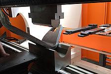 Kanten von Dickblech mit Kaltverformung - t=35 mm