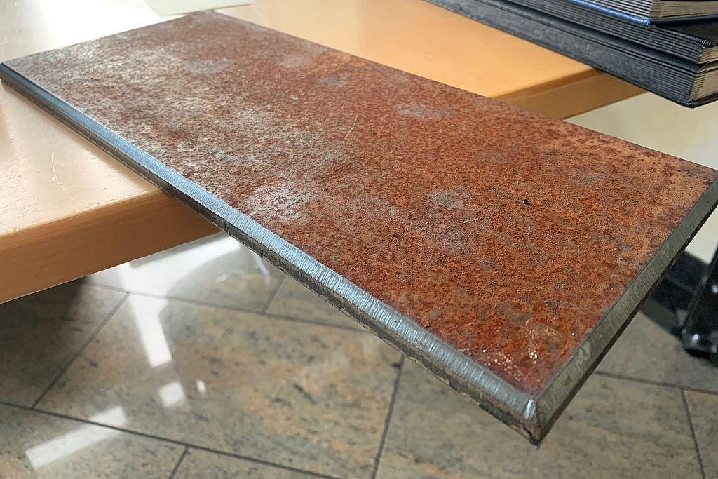 Corten-Stahl Zuschnitt