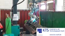 KTS Roboterschweissen von Stahl