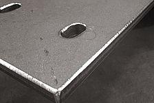 Kantenverrundung mit Radius 3mm