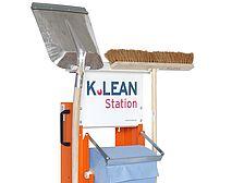 Reinigungsstationen
