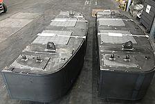 Schweissbaugruppe Wassertank für Baumaschine